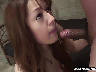 Submissive Ria Sakurai Sucks Dick To Clarion Of Prolong a rob