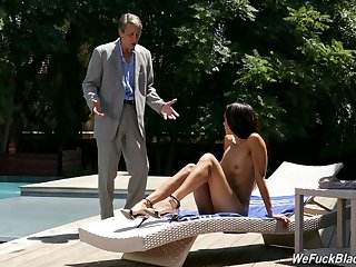 Property unvarnished Latina impenetrable Gia Vendetti dreams about riding sloppy cock