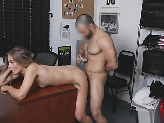 LP Officer Derek aggressively strip going-over Scarlet