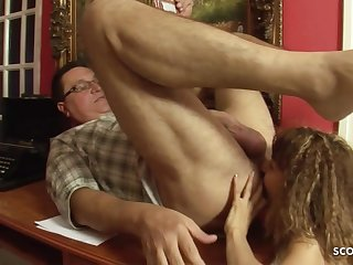 Skinny 18yo Bawd in age-old and young sex action alongside ass licking -1080p