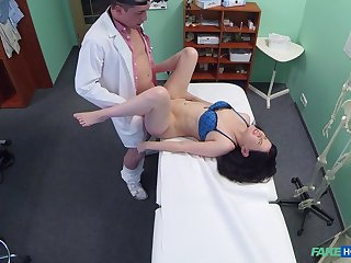 Wife strips naked be required of their way doctor who wants to fuck their way