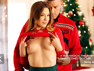 Avery Cristy & Ramon Nomar on touching Avery Loves Step Dads Hung Holiday Frosting - NewSensations